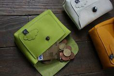 Petit porte-monnaie / porte carte. Bonne idée !