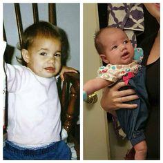 My baby & her baby:):):)