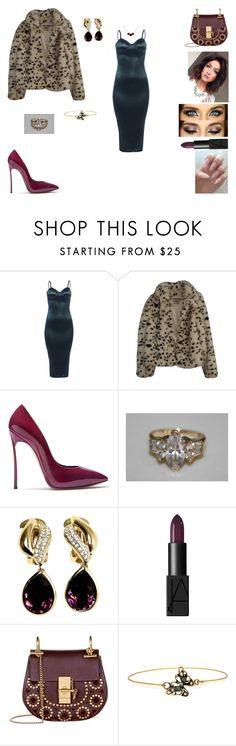 """""""&"""" by ohbabyimrachel ❤ liked on Polyvore featuring Chanel, ASOS, Casadei, Christian Dior, NARS Cosmetics, Chloé and Alcozer & J"""