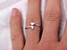 Sterling silver original semicolon ring to buy for Semicolon tattoo price