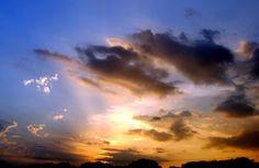 Equinox at Sunset