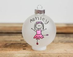 Space Ship Christmas Ornament Personalized for by BabyGeneration