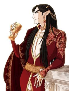 "hatteeho: "" arda's diva aka Melkor on the feast in Valinor drinking and thinking about doing some shit in future full size there's never enough details "" Lotr, Character Drawing, Character Concept, Morgoth, Dragon Heart, Tarot, Jrr Tolkien, Dark Ages, Anime Outfits"