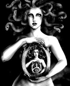 Medusa, artist unknown