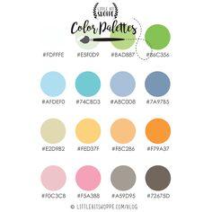 Color Palette 3 - Little Bit Shoppe