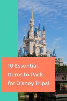 Top 10 Items For Your Disney Vacation! – Lizzie In Adventureland Disney World Parks, Walt Disney World Vacations, Disney Resorts, Disney Travel, Disney Vacation Planning, Disney World Planning, Disney World Tips And Tricks, Disney Tips, Disney Dining Tips