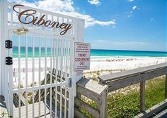Private Beach Access  #EmeraldCoast #Destin #Vacation #Relax #DestinPalmsVacations #Condo #SunAndSand #Beach #Ciboney #MakeMemories #EmeraldWater #SugarWhiteSand #Florida