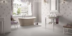 ANTHEA Tiles, bathroom classic ceramic double-fired wall tile [AM ANTHEA 1]