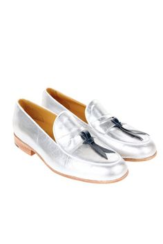 12 cool loafers to slip on stat Silver Loafers 110ea2f1b5e86