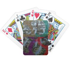 CITI SCAPE Improvisation Landscape Architecture Bicycle Playing Cards