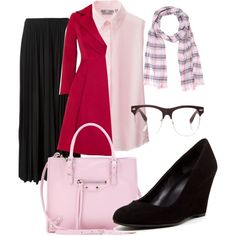 A fashion look from January 2015 featuring Uniqlo blouses, Giambattista Valli coats and Theory skirts. Browse and shop related looks. Giambattista Valli, Uniqlo, Theory, January, Fashion Looks, Blouses, Coats, Style Inspiration, Shoe Bag
