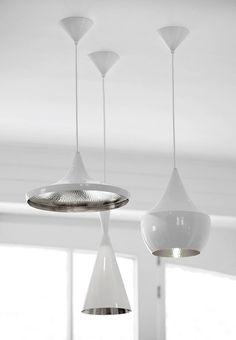 #product design #industrial design #pendant #lighting #modern - Tom Dixon Beat light series