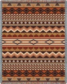 Navajo pattern. http://www.qualitytapestries.com/servlet/the-1655/Navajo-Pattern-Throw/Detail