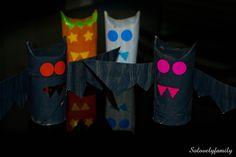 Des Petits Monstres en Rouleau de Papier toilette Halloween