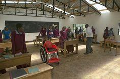Israeli NGO Designs World's First Kid-Friendly Wheelchair