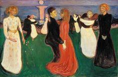 Edvard Munch- Dance of Life, 1899-1900