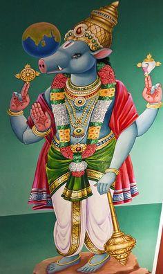 Varaaha Avatar of Vishnu