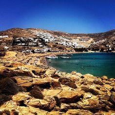 Elia Beach, Mykonos Greece