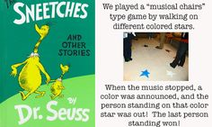 sneeches musical chairs game