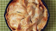 This skillet apple pie only takes a few minutes to put together, and it has a few unique characteristics and ingredients that make the taste