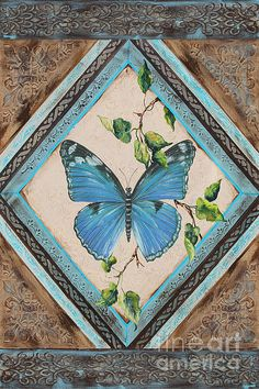 I uploaded new artwork to plout-gallery.artistwebsites.com! - 'Papillon Bleu-jp2392' - http://plout-gallery.artistwebsites.com/featured/papillon-bleu-jp2392-jean-plout.html