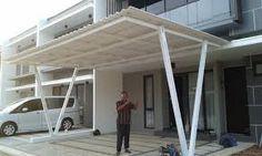 Hasil gambar untuk kanopi minimalis spandek