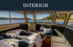 Interior of Our Boats Knysna, Houseboats, Cape Town, Cruise, Interior, Travel, Indoor, Floating Homes, Cruises