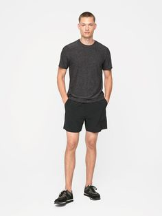 Lightweight short sleeve tee. For casually Doing Things.
