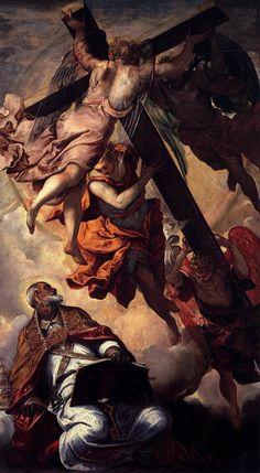 Tintoretto - La visión de San Pedro (c.1556)