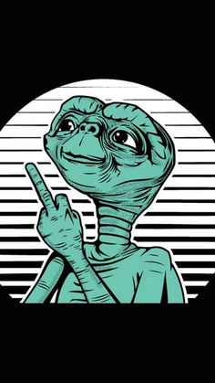 Et Wallpaper by Jillconnolly - - Free on ZEDGE™ now. Browse millions of popular cooldude Wallpapers and Ringtones on Zedge and personalize your phone to suit you. Browse our content now and free your phone Et Wallpaper, Wallpaper Animes, Trippy Wallpaper, Tumblr Wallpaper, Wallpaper Backgrounds, Iphone Wallpaper, Ufo, Graffiti, Alien Aesthetic