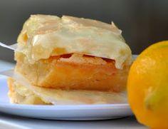 Glazed Lemon Bars  from The Farm Girl Recipes