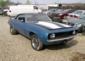 Old Muscle Project Cars For Sale 69 Chevelle, Chevrolet Camaro, Project Cars For Sale, Camaro For Sale, Muscle Cars For Sale, Classic Chevrolet, Metallic Blue, Vehicles, Car