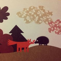 Fox ♡ Hedgehog