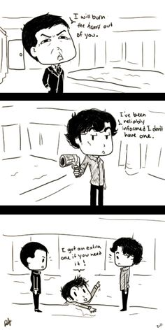 The Doctor wants to help :) #Sherlock #DoctorWho #WhoLock --- Awwwww <3 <3