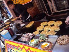Street food in Osaka, Japan.  The REAL reason I want to go.