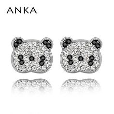 2017 Fine Jewelry Grandes  Earring Brinco Free Shipping Wholesale Price Panda Earrings #84264