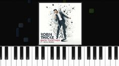 """Robin Thicke - """"Back Together"""" Piano Tutorial - Chords - How To Play - C..."""