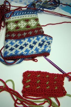 backwards crochet! you learn something new every day!