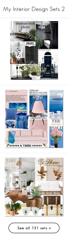 """""""My Interior Design Sets 2"""" by elena-777s ❤ liked on Polyvore featuring interior, interiors, interior design, home, home decor, interior decorating, WALL, plants, planters and Ted Baker"""