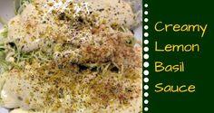 Creamy Lemon Basil Sauce to Combat PMS – The Raw Food World News