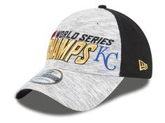 Kansas City Royals New Era MLB 2015 World Series LR 39THIRTY Cap Hats