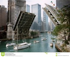 Michigan Avenue Bridge, it is raised to allow yachts to pass! - Google Search