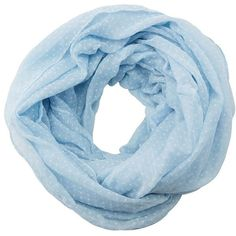 Charlotte Russe Swiss Dot Infinity Scarf (290 RUB) ❤ liked on Polyvore featuring accessories, scarves, light blue, loop scarves, infinity scarf, polka dot scarves, infinity scarves and infinity loop scarves