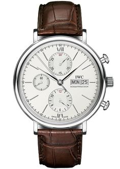 Because there's nothing classic about checking the time on your phone. Portofino Chronograph ($5,900) by IWC, tourneau.com - Esquire.com