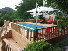 1472866331617 – Best Above Ground Pools Best Above Ground Pool, In Ground Pools, Portable Pools, Deck Pictures, Family Affair, Outdoor Decor, Summer, Home Decor, Summer Time