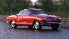 VW Karmann Ghia.  Have wanted one of these since I was 12.