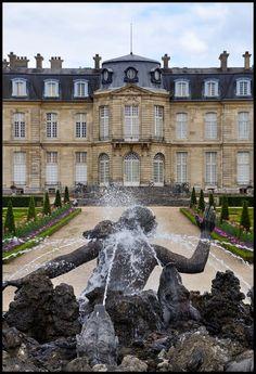 chateau de Champs-sur-Marne. Ile-de-France