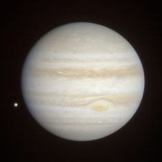 Gordan Ugarkovic-Jupiter and Io [natural color] Four Cassini narrow-angle filter frames