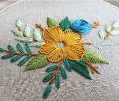 ea8db0db85e Embroidery Stitches Of Flowers Embroidery Stitches Lazy Daisy. Fati Fatima