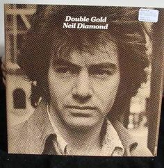 Neil Diamond Gatefold Cover 2 Lps Double Gold Near Mint